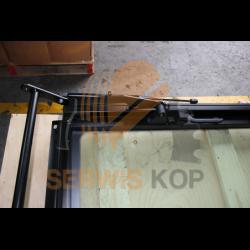 Okno z szybą tył - Kabina P21 / JCB 3CX 4CX - 332/F5272