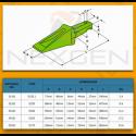 Nakładka zęba J450 J460 / System CAT - 7T3402