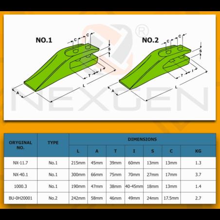 Linka blokady ramienia koparkowego 2001 / JCB 3CX 4CX