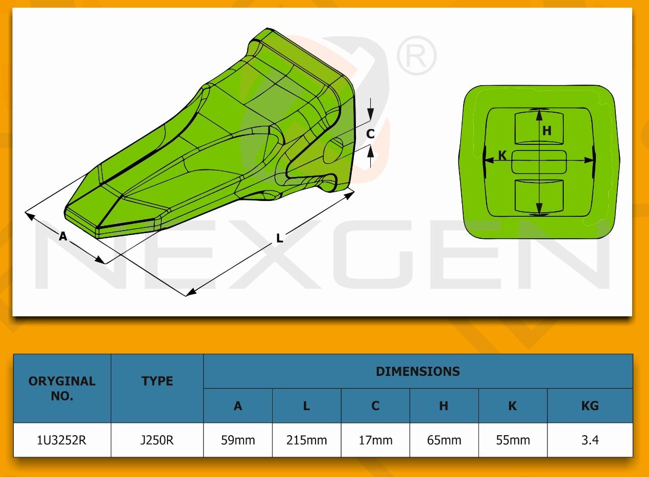 hydraulic gear pump - twin    jcb 3cx 4cx  72400
