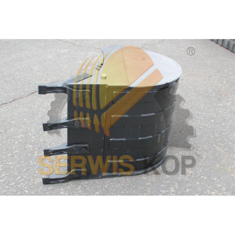 Ślizg stabilizatorów metalowy plus nakładka 3CX 4CX - 128/10850
