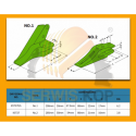 Tool moil 80x800mm HM385Q / JCB 3CX 4CX - 331/52461