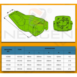 Talerz dociskowy sprzęgła / JCB 3CX 4CX Ładowarki