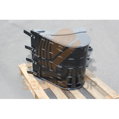 Tulejka sprężynowa w łyżkę tylną / JCB 3CX 4CX