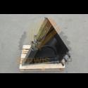 Podkładka hydroklapy prawa - zabezpieczenie / JCB 3CX 4CX - 823/00577