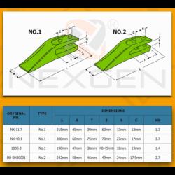 Obudowa skrzyni biegów - Powershift PS760 4 biegi - 459/30363