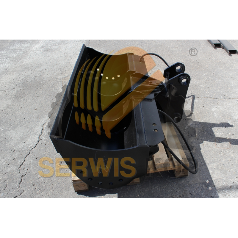 Strut door stay 340 x 110 / JCB 4CX 3CX - 123/05403Z