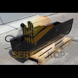 Łyżka skarpowa hydrauliczna 150cm / JCB 3CX 4CX COBRA HB400