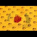 Lemiesz Komatsu WA320 - 1596x330x28,5