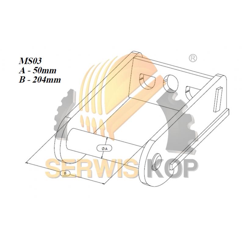 Pump steering / JCB 3CX 4CX - 20/205200