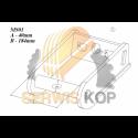 Model koparko-ładowarki JCB 3CX / Skala 1:50