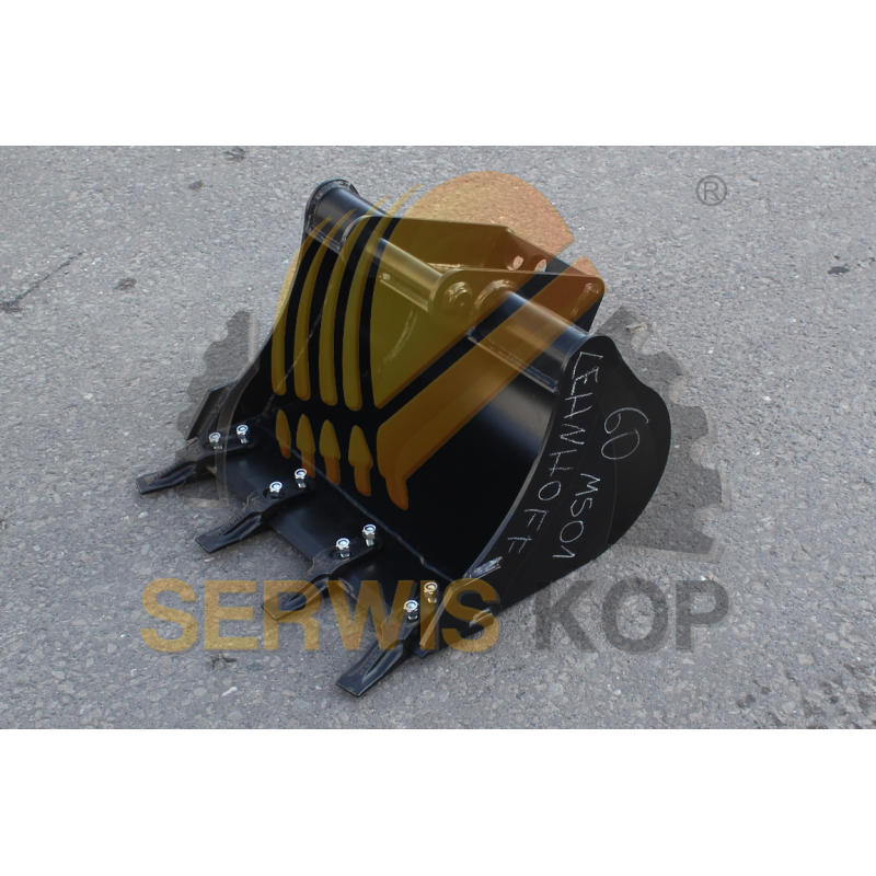 Yoke spring and fork assembly JCB JS110-130 - JNA0224