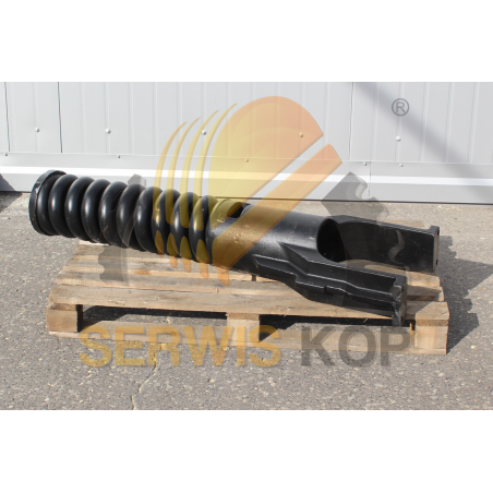 Bolt and nut for teeth / JCB MINI - bilateral