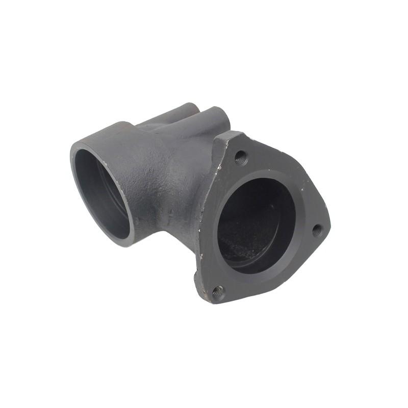 Elbow turbo exhaust / JCB 3CX 4CX - 02/200502