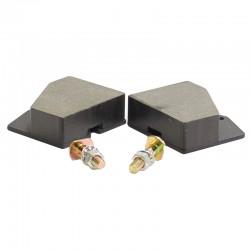 Parking brake pad kit JCB 3CX 4CX - 15/104300