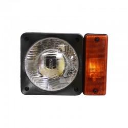 Lampa drogowa - przednia / JCB 3CX 4CX - 700/21100