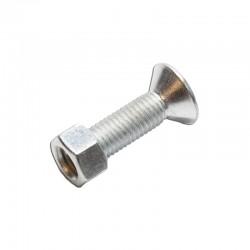 Śruba z nakrętką do jednostronnych zębów / Minikoparki JCB - 826/01112