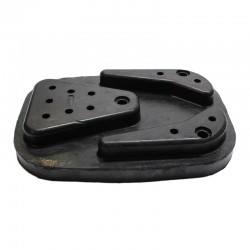 Pad street rubber JCB 3CX 4CX 1998-up - 980/88215