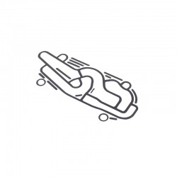 Gasket valve block - transmission JCB - 813/10175