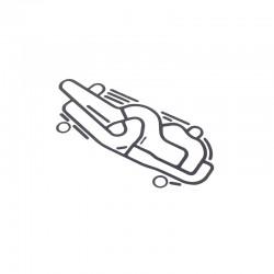 Uszczelka pod elektrozawór / skrzynia JCB - 813/10175