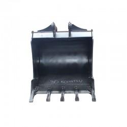 Bucket 80 cm / KOMATSU WB93/97 - HB400 Blade - 42N-812-1610