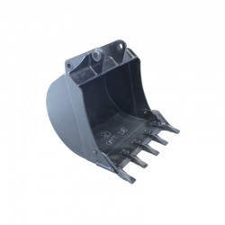 Bucket 80 cm / CAT 428D 428E 428F 432E - HB400 blade