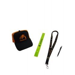 A set of gadgets - cap, a...