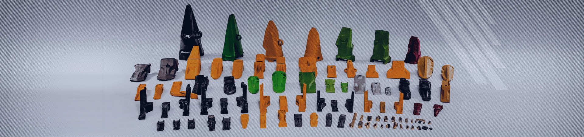 Teeth / adapters / locks